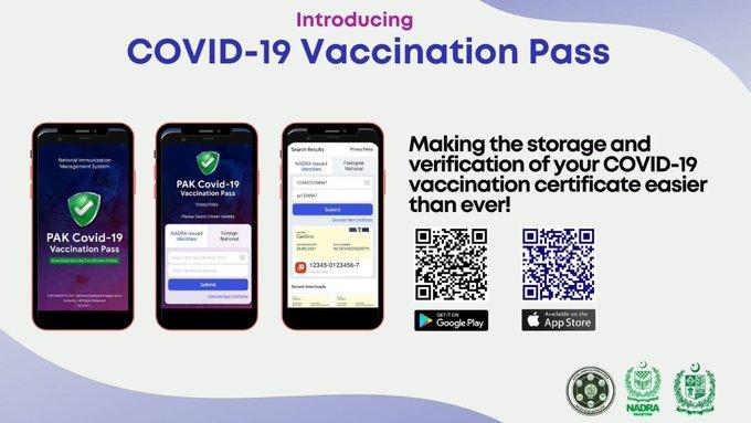 Pakistan COVID-19 Vaccination Pass App